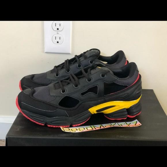 53e48f93f244 Adidas Raf Simons Replicant Ozweego Black Mens
